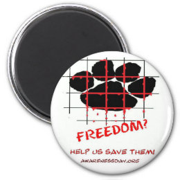 Puppy Mill Awareness Day Magnet