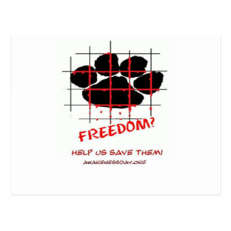 Puppy Mill Awareness Day Postcard