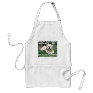 Puppy Mill Survivor - Give Mill Dogs a 2nd Chance! Adult Apron