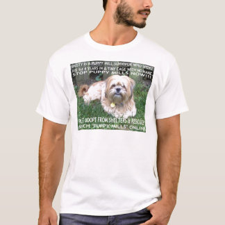 Puppy Mill Survivor - Give Mill Dogs a 2nd Chance! T-Shirt