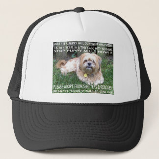 Puppy Mill Survivor - Give Mill Dogs a 2nd Chance! Trucker Hat