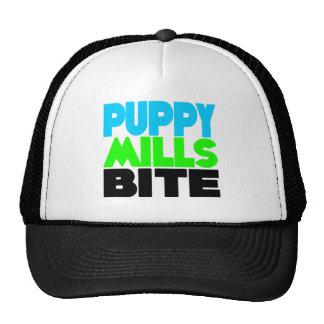 Puppy Mills Bite! Stop Puppy Mills! Trucker Hat