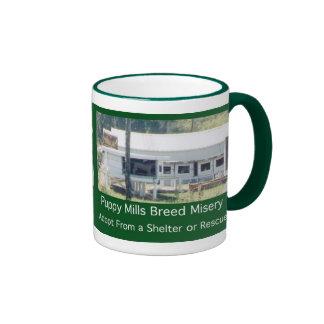 Puppy Mills Breed Misery Mug