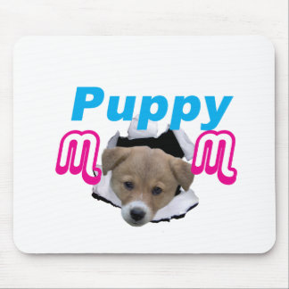 Puppy Mom Mouse Pad