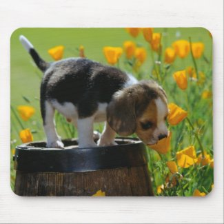 puppy mouse pad mousepad