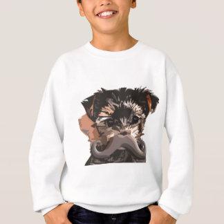 Puppy Mustache Sweatshirt