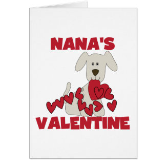 Puppy Nana's Valentine Tshirts and Gifts Card
