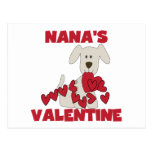 Puppy Nana's Valentine Tshirts and Gifts Post Cards