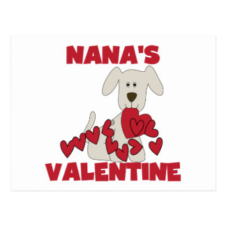 Puppy Nana's Valentine Tshirts and Gifts Postcard