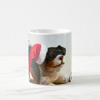 Puppy on a Sled Coffee Mug