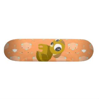 puppy on spirals skate bord skate boards