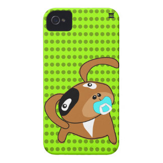 Puppy Pacifier iPhone 4 Case-Mate Case