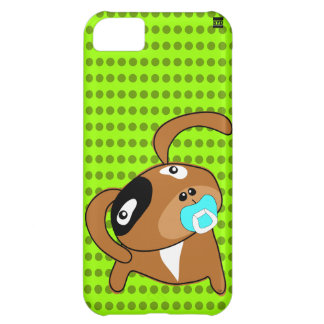 Puppy Pacifier iPhone 5 Case-Mate Case