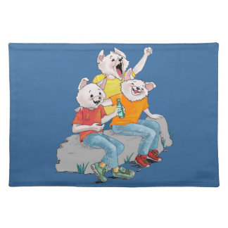 Puppy Pack Placemat