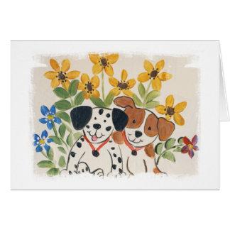 Puppy Pair Card