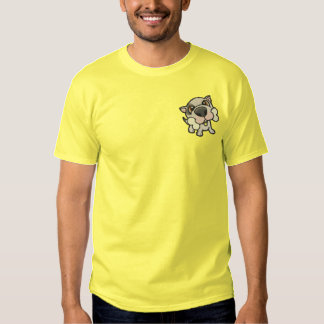 Puppy Pals 1 Embroidered T-Shirt