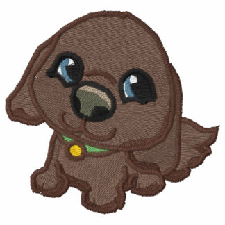 Puppy Pals 2 Embroidered Hooded Sweatshirt
