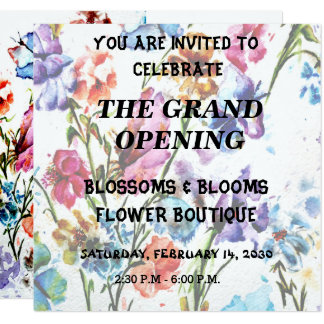 PUPPY PAW PRINTS | GRAND OPENING INVITATION