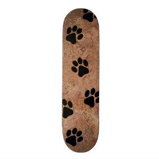 Puppy Paw Prints Skateboard