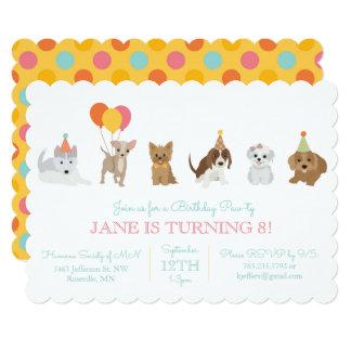 Puppy Paw-ty Card