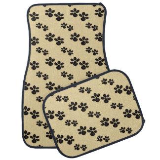Puppy Paws cartoon car mat set