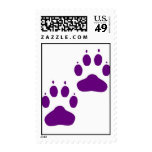 Puppy Paws Postage Stamps