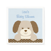 Puppy Personalized Napkins