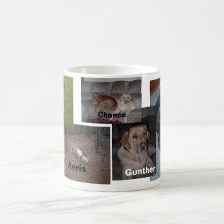 Puppy Pets Classic White Coffee Mug