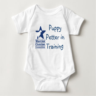 Puppy Petter in Training onsie Baby Bodysuit