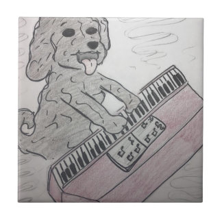 puppy piano tile