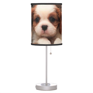 Puppy Pictures Table Lamp
