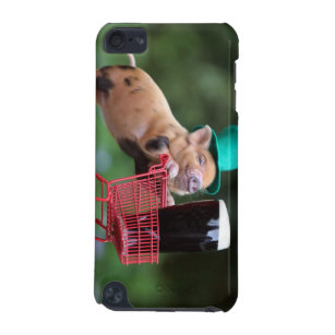Puppy pig shopping cart iPod touch (5th generation) cover