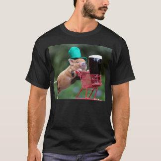 Puppy pig shopping cart T-Shirt