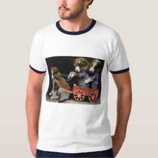 Puppy Pileup tshirt