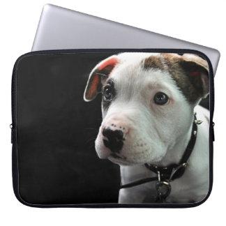 Puppy Pit Bull T-Bone Laptop Sleeve