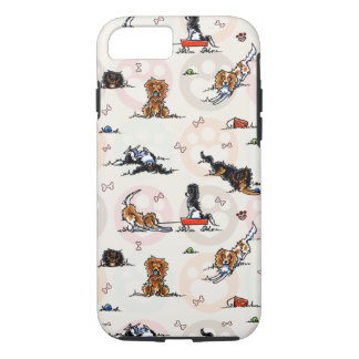 Puppy Playtime In For a Treat iPhone 8/7 Case