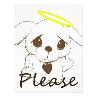 Puppy Please Letterhead