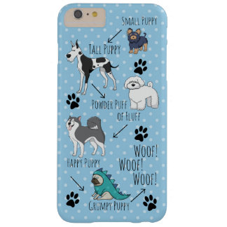 Puppy Poem Barely There iPhone 6 Plus Case