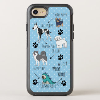 Puppy Poem OtterBox Symmetry iPhone 8/7 Case
