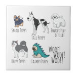 "Puppy Poem Tile<br><div class=""desc"">Adorable puppy pictures set to a short puppy poem.</div>"