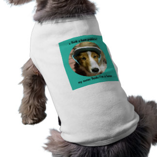 Puppy Poet Pet Shirt for Dogs and Very Big Cats