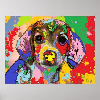 puppy Portrait 1 Posters