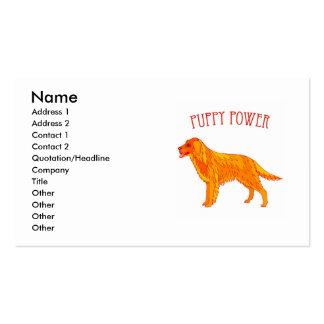 Puppy Power Business Card