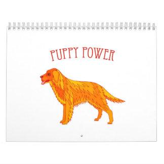 Puppy Power Calendar