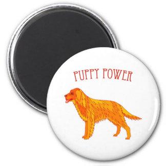 Puppy Power Magnet