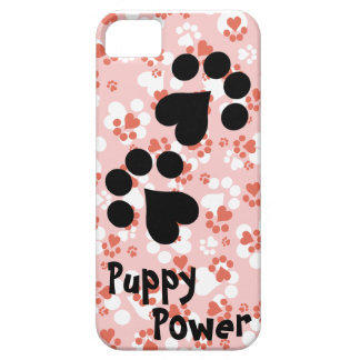 Puppy Power - Paw Prints -  Animal lovers iPhone SE/5/5s Case