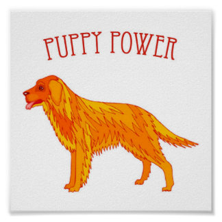 Puppy Power Poster