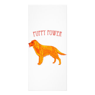 Puppy Power Rack Card