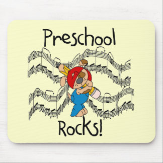 Puppy Preschool Rocks Tshirts and Gifts Mouse Pads