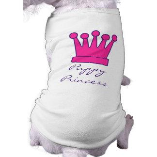 Puppy Princess Crown Doggy Shirt Pet Clothes